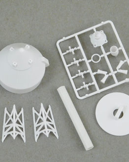 Saturn V Plastic Parts Set
