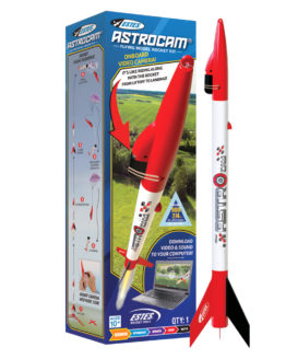 Estes 7308 Astrocam Box With Rocket